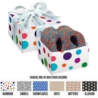 Chocolate Pretzel Gift Box - Nonpareil Sprinkles