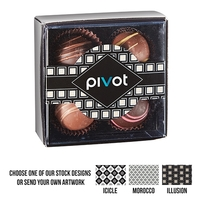 4 Piece Belgian Chocolate Truffle Box