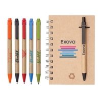 """Recycled Notebook/Pen Combo - 5""""x7"""""""