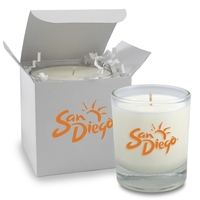 3 oz. Clear Votive Glass Candle