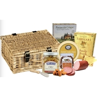 Artisan Basket of Cheese,Crackers and more