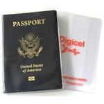 Clear Bi-Fold Book Style Passport Cover