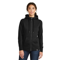 New Era Ladies French Terry Full-Zip Hoodie.