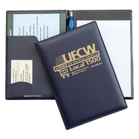 Deluxe Jr. Size Pad Folders with Padded Stiff Cover