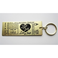 Ticket Style Key Tag-Event Tag