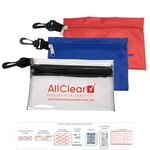 31 Pc Multi-Bandage First Aid Kit in Supersized Zipper Pouch