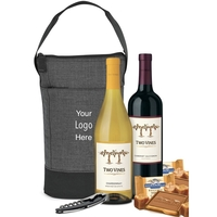 Double Wine Bag with Wine & Chocolates