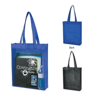 Non-Woven Clear View Tote Bag