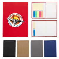 "3 1/2"" x 5"" Jotter With Sticky Notes And Flags"