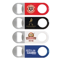 Short Paddle Vinyl Wrapped Bottle Opener