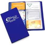 Deluxe Business Card Organizer - Holds 48 Business Cards
