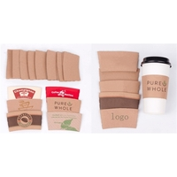 Coffee paper cup cover