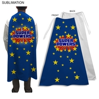 Sublimated or Blank Polyester Super Hero Cape