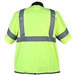 Green safety vest, ANSI class 3 (med - 4xl)