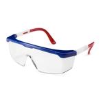 Freedom, durable frame, grey lenses, Strobe safety glasses