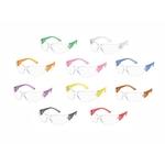 Assorted frames, clear lens, Starlite safety glasses