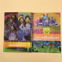 Spiral Notepad With 3D Lenticular cover