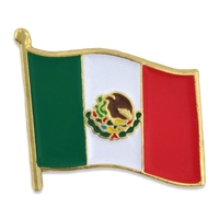 World Flag - Mexico Flag Pin