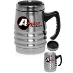 Unique Stainless Steel Travel Mug With Handle