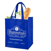 Full View Junior - Large Imprint Grocery Shopping Tote Bag