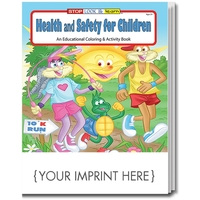 Health and Safety for Children Coloring Book Fun Pack