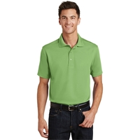 Port Authority Poly-Charcoal Blend Pique Polo.