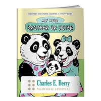 Coloring Book: My New Brother or Sister