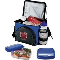 Koozie® Super-Six Pack Combo with Lunch Container