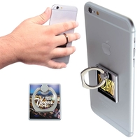 Smartphone Ring stand Holder w/Epoxy Dome