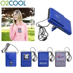 O2COOL Logo Necklace Fan