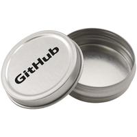 Empty Round Mint Tin