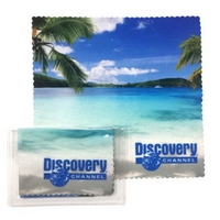 Microfiber Cloth 6x6 in Pouch