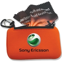 """Microfiber Cloth 6"""" x 6"""" in a phone case"""