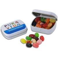 Pocket Hinged Tin with Candy Jelly Belly Jelly Beans