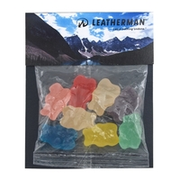 Billboard Full Color Header Candy Bag- with Gummy Bears