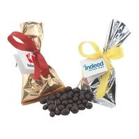 Chocolate Espresso Beans Favor/Mug Stuffer Bags with Ribbon