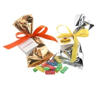 Sour Patch Kids Favor/Mug Stuffer Bags with Ribbon