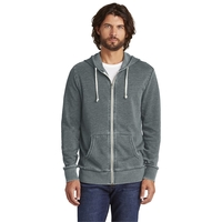 Alternative Burnout Laid-Back Zip Hoodie.