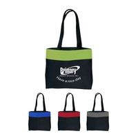 600D Poly Two-Tone Tote Bag