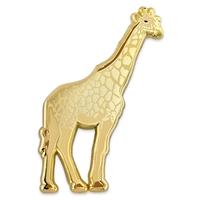 Gold Giraffe Pin