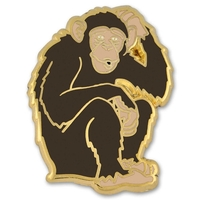 Monkey Lapel Pin