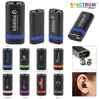 TWS Earbud with Powerbank Charging Case