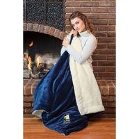 Plush Comforter Throw