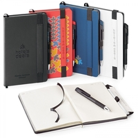 BOSTON HARD COVER NON-REFILLABLE JOURNAL COMBO