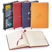 TOSCANO GENUINE LEATHER NON-REFILLABLE JOURNAL