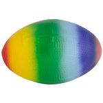 Squeezies Rainbow Football Stress Relievers