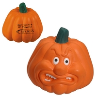 Pumpkin Stress Reliever Angry
