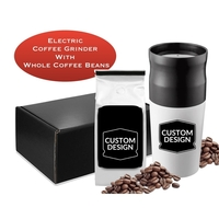 Coffee Grinder & Coffee Bean Kit