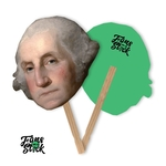 "9""x12"" George Washington Face Fans"