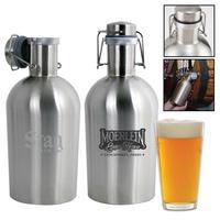 Portland 64 oz. Stainless Steel Beer Growler Jug